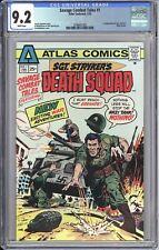 Savage Combat Tales #1 CGC 9.2 WP 1975 3798457005 Atlas Comics 1st Death Squad!