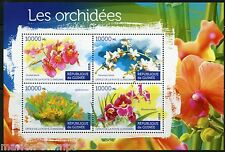 GUINEA 2015 ORCHIDS  SHEET  MINT NEVER HINGED