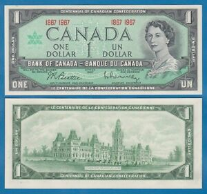 CANADA 1 Dollar P 84a 1967 UNC Commemorative BC-45a Low Shipping Combine FREE 84