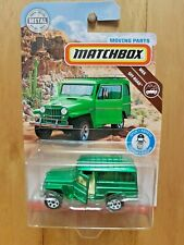 MATCHBOX MOVING PARTS 2019 MBX OFF-ROAD '62 JEEP WILLYS WAGON