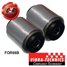 2 x Ford Fiesta MK3 Vibra Technics Rear Axle Beam Bushes Fast Road/Comp FOR66B