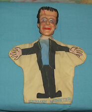 vintage 1964 The Munsters HERMAN MUNSTER hand puppet