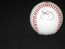 JEFF FRANCOUER, ROGER McDOWELL, KELLY JOHNSON +(1)  SIGNED AUTOGRAPHED BASEBALL