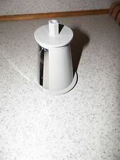 REPLACEMENT CONE FOR PRESTO PROFESSIONAL SALAD SHOOTER  #0297001 GREY IN COLOR