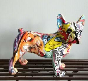 Lovely Leonardo Groovy Graffiti Art French Bulldog- 28cm Gift Boxed
