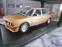 BMW 5er Reihe 535i M M535i 535 E12 Limousine 1980 gold met. Norev 1:18