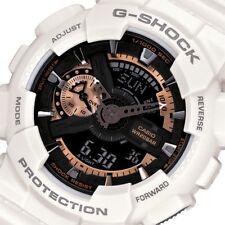 Casio G-Shock Mens Wrist Watch GA110RG-7A GA-110RG-7A Digital-Analog White Gold
