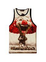 Clown Atom Bomb Tank Top Vest (funny all over 3d printed vest)