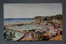 R&L Postcard: J Salmon, St Aubin Jersey, CT Howard Watercolour Series