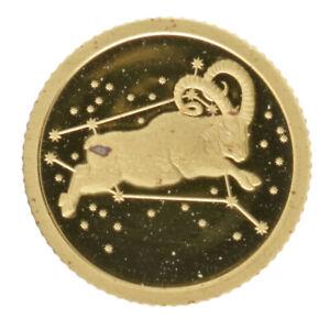 Tokelau - Gold 5 Dollars Coin - ½ Gram - 'Aries' - 2015 - Proof