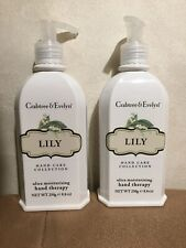 2 SetCrabtree Evelyn Lily Of The Valley Pump Hand Care Collection Therapy Lotion