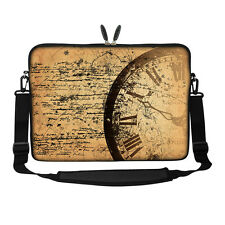 "17.3"" Laptop Computer Sleeve Case Bag w Hidden Handle & Shoulder Strap 3026"