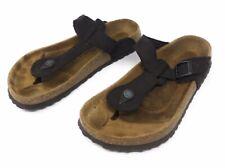 Birkenstock Betula Gizeh Thong Sandal Slip On Slide Womens 10 Flip Flops Brown