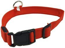Hunde-Halsband leuchtend mit LED 52-60cm, Größe XL, rot