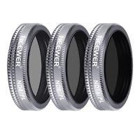 Neewer ND4/PL ND8/PL ND16/PL Shutter Filter Kit for DJI Mavic 2 Zoom