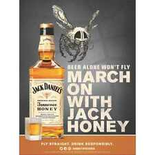 JACK DANIELS HONEY MARCHES ON  18 BY 26