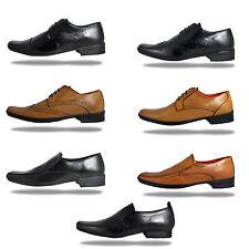 Lambretta Mens Real Leather Designer Formal Dress Shoes - £19.99 + Free P&P