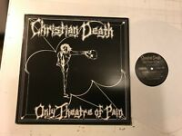 CHRISTIAN DEATH only theatre of pain LP FRONTIER '82 Orig goth rozz williams WOW