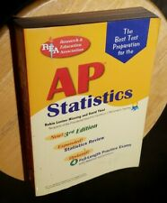 REA AP Statistics by Robin Levine-Wissing & David W. Thiel, 3rd edition 2008,Pbk