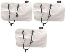 Black and Decker Bv2500 Bv4000 Leaf Blower Collection Bag 610004-01 - 3 Pack