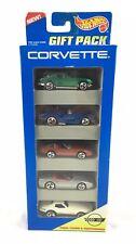 NEW 1995 HOT WHEELS CORVETTE GIFT PACK 5 CARS Set Mattel 15070