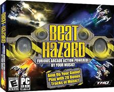 Beat Hazard PC Games Windows 10 8 7 XP Computer music arcade shooter twin stick