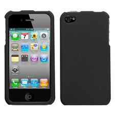 For Apple iPhone 4S/4 Black Phone Protector Case Cover