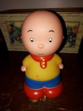 """Caillou Famosa Toy Doll6.5"""" Tall Vtg Squeaky works"""