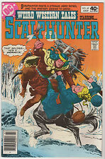 Weird Western Tales #69 (Jul 1980, DC) SCALPHUNTER VF LOT (7) white pages Bronze