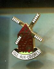 RARE PINS PIN'S .. TOURISME MOULIN A VENT MILL ISLE AUX COUDRES QC CANADA ~CY