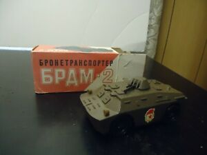 RUSSIAN USSR DieCast MILITARY 1:43 Model BRDM 2 Armored Personnel carrier w/box