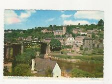 The Iron Bridge Ironbridge Shropshire 1974 Postcard 011b