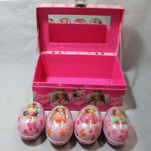 Barbie Photo Box and Barbie Russell Stover Egg Tins CB00805