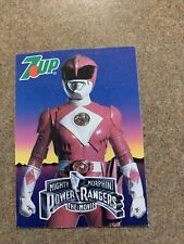 Mighty Morphin Power Rangers the movie pink Power Ranger 7-Up
