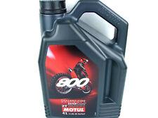 Motul 800 2T Off Road 4Liter Factory Line Motorradöl Öl ORIGINAL 104039 Ester