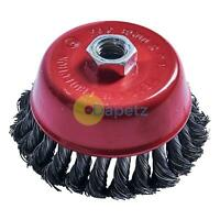 "4"" 100mm Crew Twist Knot Wire Wheel Cup Brush"