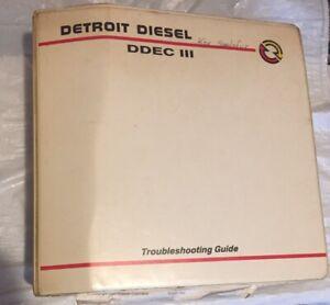 DDEC III (3) Detroit Diesel Troubleshooting Manual.(1993) Detroit OEM