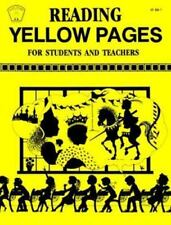 Reading Yellow Pages for Students and Teachers Kids' Stuff