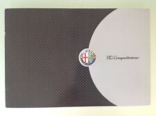 Alfa Romeo 8C Competizione Katalog & CD, 2006, Text english