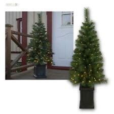 "LED Christmas Tree "" Hytte "" 120cm,Warm White Artificial Außen-tannenbaum in Pot"