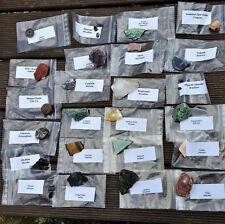 24 Rohsteine Adventskalender Kindergeburtstag Edelstein Mineraliensammlung Nr2