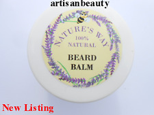Beard Moustache Balm, Conditions Hair & Skin, Scents Patchouli & Ceder Wood 40ml
