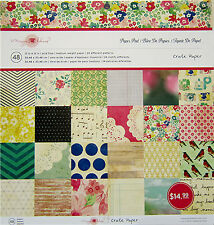 Crate Paper (Maggie Holmes) 12x12 Paper Pad - 48 Sheets  Save 40%