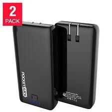Pocket Juice 8000mAh Slim Portable Power Bank 2-pack w/ Dual USB Ports