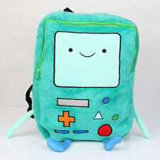 Adventure Time Beemo BMO Plush Backpack Book Shoulder Bag 13 inch Green Gift