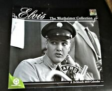 2010 16-Month Calendar, Elvis, The Wertheimer Collection