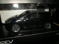 1:18 Norev Citroen DS3 Cabrio 2013 Black/schwarz Nr. 181545 in OVP