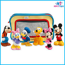 Disney Mickey Mouse and Friends 6 piece Bath Toys for Baby brand new