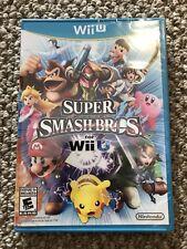 Super Smash Bros. Brothers Nintendo Wii U Brand New!