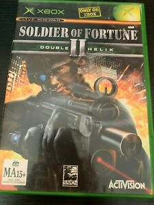 SOLDIER OF FORTUNE II DOUBLE HELIX - MICROSOFT XBOX